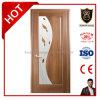 Porte de pliage en bois en verre souillé de forces de défense principale de vente chaude avec le prix raisonnable