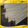 Extrusion d'aluminium de l'aluminium T Solt de profil de construction de qualité