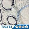 Fournisseur professionnel de poly tissu de jacquard du Knit 100