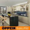 Oppein laca de color amarillo claro, moderna cocina de madera armarios (OP16-L12).