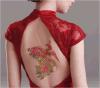 Etiqueta engomada temporal de moda del tatuaje del arte de la etiqueta engomada del tatuaje de Phoenix