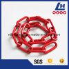 Revestimento G80 plástico que chicoteia a corrente de ligação