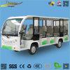 Vehículo de pasajeros de visita turístico de excursión eléctrico de los asientos del omnibus 14 para el parque