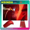 Rivestimento elettrostatico pianamente rosso della polvere del Semi-Gloss/del raso per la strumentazione esterna rivestita del metallo
