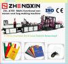 Saco de empacotamento não tecido da tela da alta velocidade que faz a máquina (ZXL-A700)