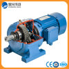 Gusano helicoidal del reductor del engranaje reductor del motor para levantar la máquina