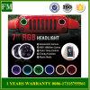 Scheinwerfer des Bluetooth Halo-DRL 7 '' RGB LED für Jeep