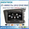 Lettore DVD dell'automobile per Honda Civic con il sistema di percorso radiofonico di GPS
