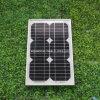 モノラル結晶のケイ素の太陽電池パネル(GCC-8W)