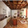 Design de cozinha de madeira maciça de luxo