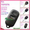 Chave remota do carro para Toyota com a microplaqueta 313.8MHz de G de 4 teclas