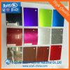 Roulis rigide de galvanoplastie de PVC de plastique de couleur pour l'enveloppe de tambour
