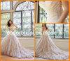 Trägerloser Hochzeits-Kleid-Schatz A - Zeile Rhinestones-Brauthochzeits-Kleid Y21431L