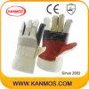 De Handschoenen van het Werk van de Bedrijfsveiligheid van het Leer van het Meubilair van de Kleur van de regenboog (310012)