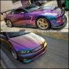 カメレオン車のペンキカラー変更の顔料