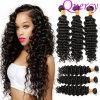 Волос девственницы волны оптовой продажи фабрики волос волосы Weave глубоких бразильских людские