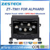 Toyota Alphard를 위한 Zestech Bluetooth USB DVD 차 항법