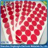 Plakband van het Schuim Pet/PE van de matrijs de Scherpe Ronde Rode Tweezijdige