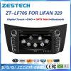 Radio de coche del estruendo 2 DVD GPS para el jugador de multimedia de Lifan 320