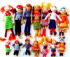 La main le crochet de poupées, jouets, crochetée du crochet Amigurumi, Croche Jouets pour bébés