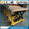 manuelles Doppeltes Scissor der bewegliche hydraulische Hand350kg anhebenden Tisch Ptd350A für Verkauf