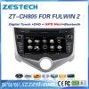 AudioGPS van de Radio van de auto Systeem voor Chery Fulwin 2 2013 AutoDelen