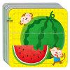 Personalizzare il puzzle del cartone del documento del puzzle della frutta