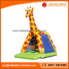 Giraffe-aufblasbarer springender Prahler mit geschützter UVfiletarbeit (T1-002B)