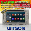 ヒュンダイH1/Starex (W2-F9533Y)のためのWitsonのアンドロイド5.1バージョン車DVD