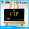 Transparente Geschäft VIP-Plastikkarte mit dem heißen Stempeln