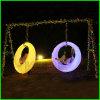 Terrain de jeux intérieure et extérieure rougeoyant pendaison mariage romantique Swing Swing