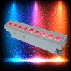6in1 Rgabw+UV電池の無線電信の上りの洗浄LED同価はできる