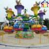 O helicóptero da abelha do carrossel alegre vai equipamento ao ar livre do divertimento do campo de jogos do círculo