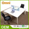 간단한 작풍 사무용 가구 2 시트 모듈 사무실 워크 스테이션 책상