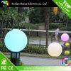 Luces plásticas de 1 de la pulgada de la bola de la depresión bola redonda de la bola LED