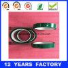 厚さ: 0.07mmの長さ: 33m高温緑ペットフィルムによって基づくシリコーンポリエステルテープ