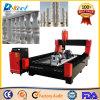 Heavy Duty CNC Stone Router Cylindre Marbre / Grantie Machine de gravure / gravure