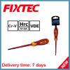 Ручные инструменты безопасности Fixtec CRV 4мм 100мм изолированный с плоским лезвием комплект