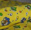 Tissu imprimé de flanelle balayé bon marché par CVC