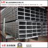 pipa de acero rectangular de 100mmx50mmx2.5m m para el edificio de la estructura