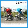 Bici di Taga della bici del passeggiatore del bambino e della madre