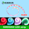 Flexible 5050 RGB + Ww LED Strip 60LEDs / M pour éclairage décoratif