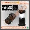 Una lanterna di campeggio autoalimentata solare di 6 SMD LED