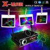 1 ВТ RGB цветной лазерный свет анимации аналоговой модуляции