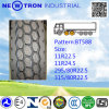 Pneumático radial barato do caminhão de Bt588 295/80r22.5 para as rodas da movimentação