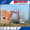 China 25m Boom Mobile Truck Mounted Concrete Pump