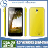 4.5 IPS Mtk6582 van de Duim Kern Androïde 4.4 die 3G Dubbele SIM van de Vierling Mobiele Telefoons (T2) verkoopt