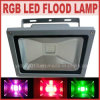 Outdoor imperméable à l'eau Remote Control RVB DEL 50W DEL Flood Light