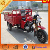 安いガスは3つの車輪の貨物手段Trikeにモーターを備えた