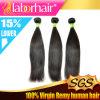 Выдвижение 2016 человеческих волос девственницы Weave 100% волос бразильское шелковистое прямое Lbh 079